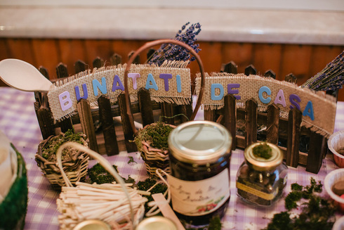 Candy-bar rustic de nunta