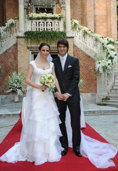 nunta Adelina si Cristi Chivu