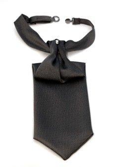 Lavaliera neagra din poliester si vascoza