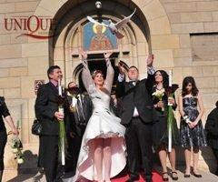 Eliberare de porumbei la nunta