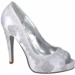 pantofi mireasa cu platforma