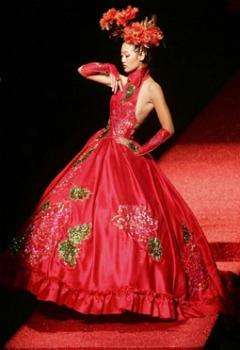 rochia de mireasa in china
