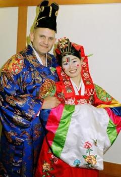 rochia de mireasa in corea