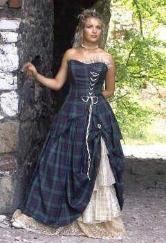 rochia de mireasa in scotia