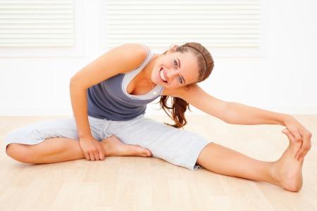 poza stretching