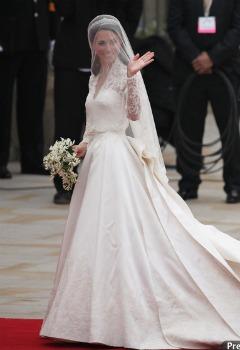 rochia de mireasa a printesei catherine