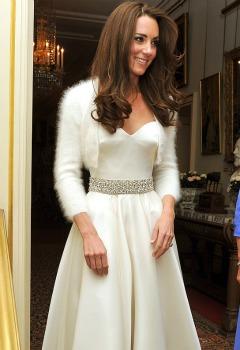 rochia pentru receptie, nunta regala