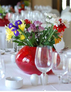 aranjamente florale colorate