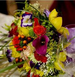 aranjamente florale de nunta sofisticate