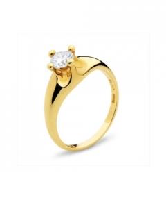 inel de logodna cu diamant la moda