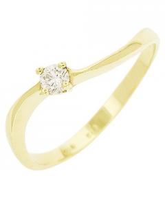 inel logodna cu diamant