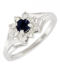 model inel logodna diamant