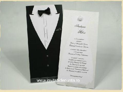 invitatii de nunta extravagante