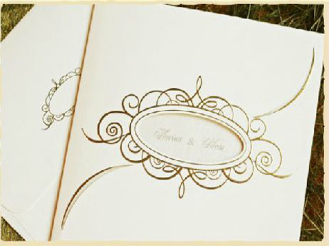 invitatii de nunta simple
