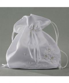 geanta de mireasa saculet