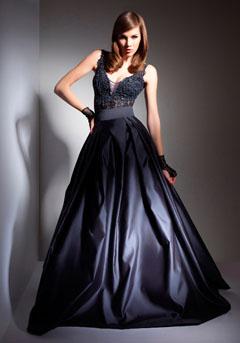 rochie eleganta metalizata