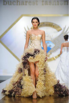 rochie de mireasa la moda in 2013