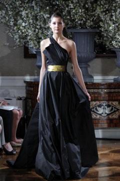 rochie de mireasa colorata 2013