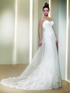 rochie dantela sposa