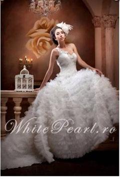 rochie de mireasa scumpa