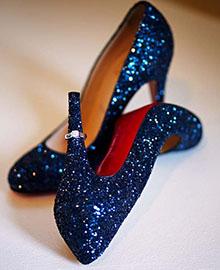 pantofi cu pauete