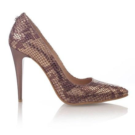 pantofi botta animal print