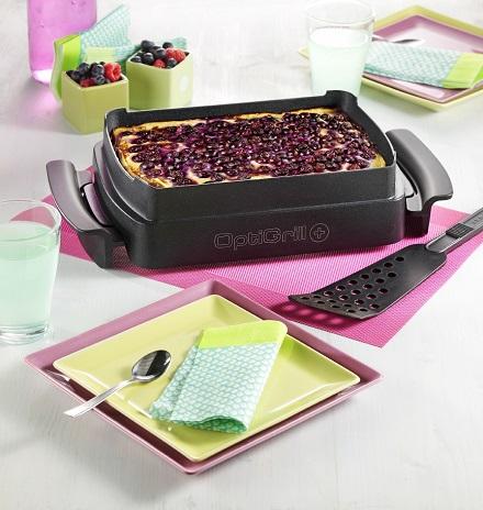 Tefal OptiGrill®+ Snacking & Baking