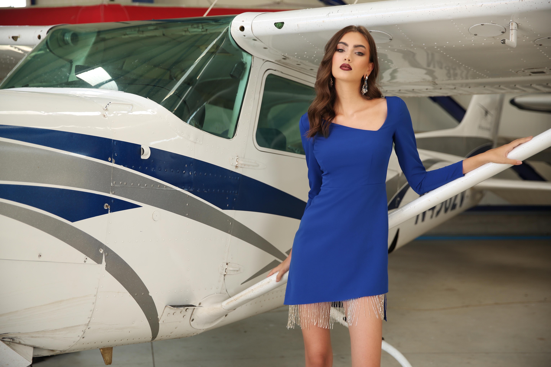 rochie albastra missgrey