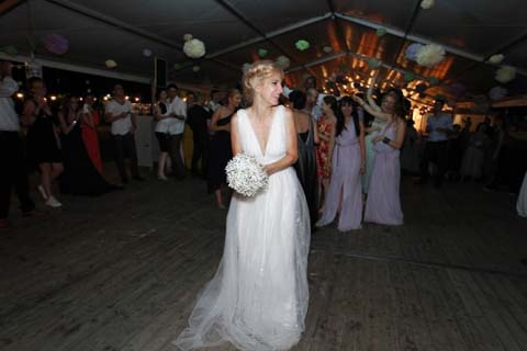 poza rochie de mireasa Dana Rogoz