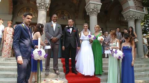 poza rochie de mireasa Madalina Draghici