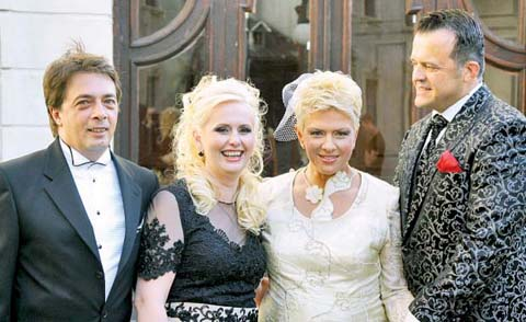 poza casatorie Teo Trandafir