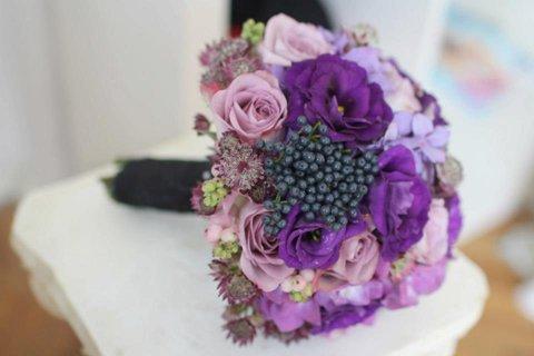 poza aranjamente florale nunta 2013