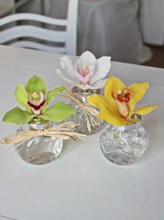 poza aranjamente florale miniatura