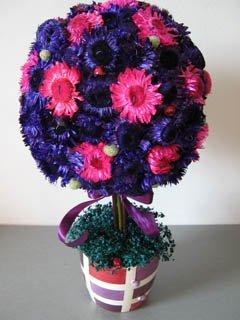 poza aranjamente nunta violet