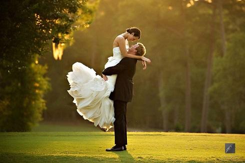 Fotografie de nunta in brate
