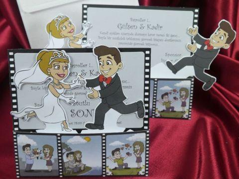 Invitatii nunta amuzante
