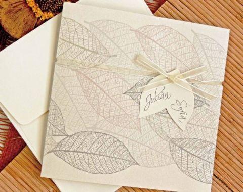 Invitatie nunta rustica