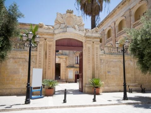Malta - Vilhena Palace - Mdina Rabat