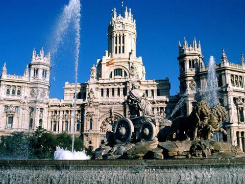 Fontana de Cibeles, Madrid