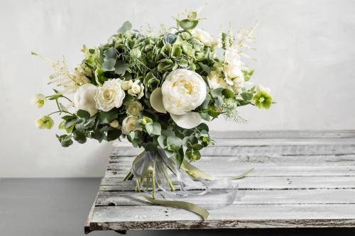 buchet de flori pentru cununia civila