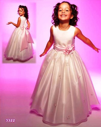 Poza rochita fetite, domnisoara de onoare, pastelata, Venus Bridal