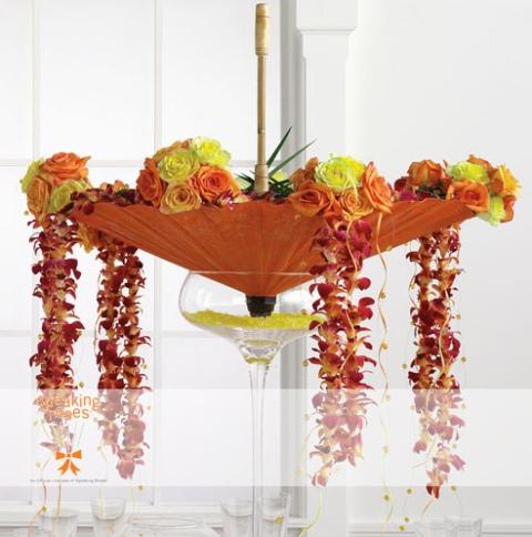 Poza aranjament floral Speaking Roses