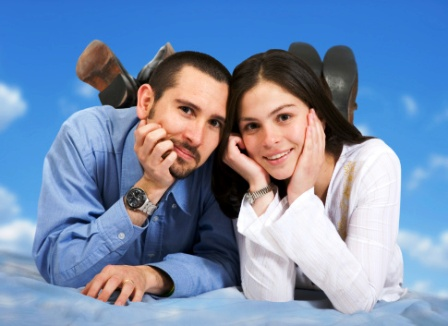 poza cuplu casatoria de proba