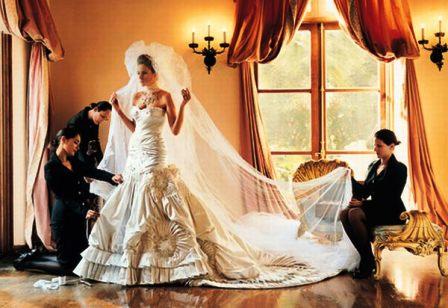 Cele mai scumpe rochii de mireasa din lume: rochia Melaniei Knauss
