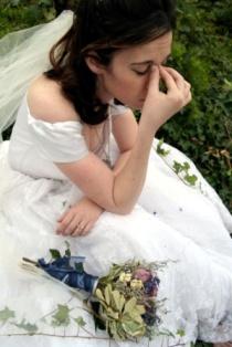 mireasa stresata la nunta