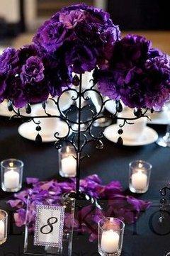 aranjament nunta colorat