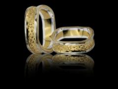 verighete de aur patrate