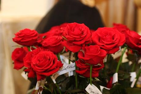buchet de trandafiri penru nunta