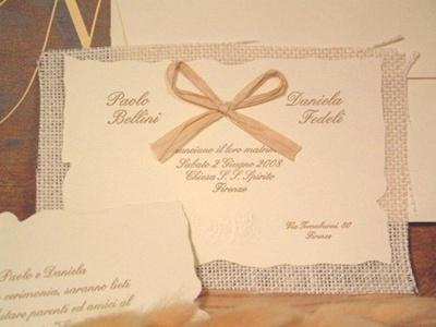 invitatie de nunta in stil rustic