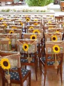 scaune decorate rustic